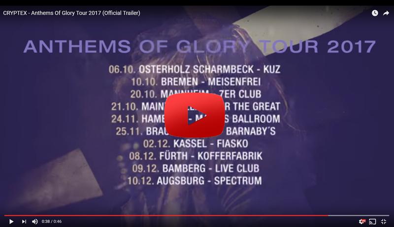 Cryptex Tour Trailer