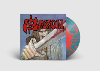 Saxon LP + Cover