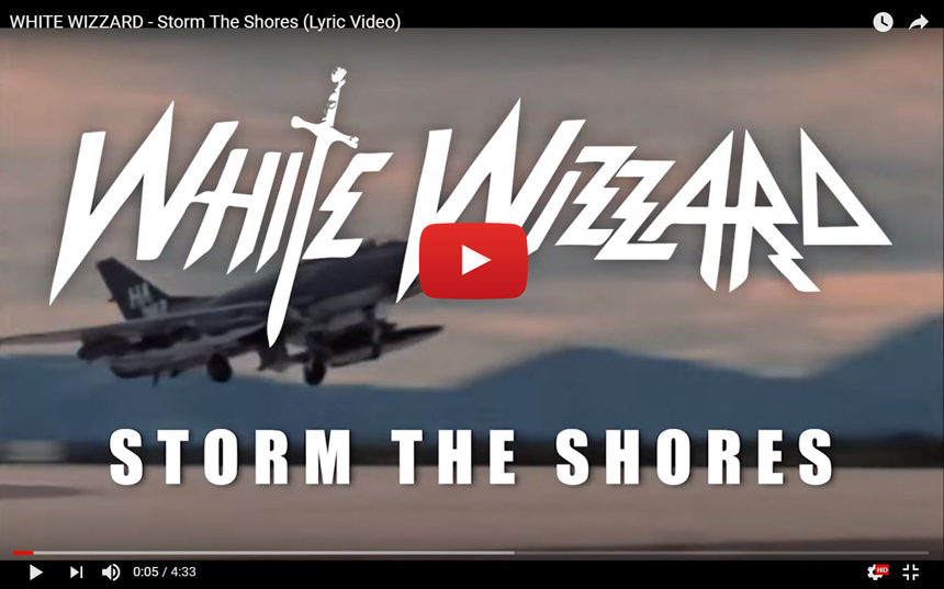 Youtube-Screenshot for White Wizzards new music video