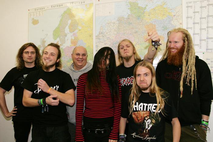 Cripper und CMM-Team im Jahr 2008