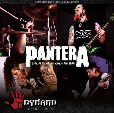 PANTERA live at DYNAMO OPEN AIR 1998 – Cover